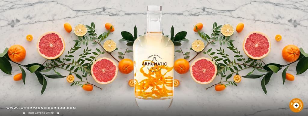 Arhumatic - Rhum arrangé - Mandarine de Sicile