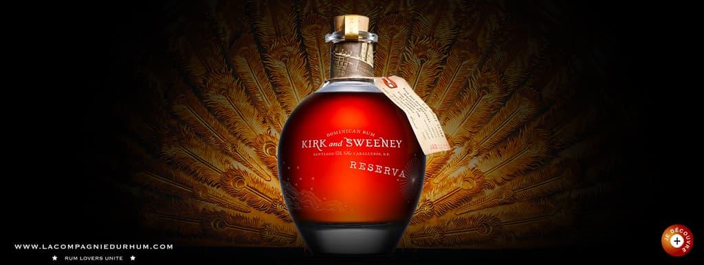 Kirk and Sweeney - Rhum hors d'âge - Reserva