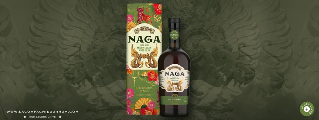 Naga - Rhum hors d'âge - Java Reserve - Celebration Edition 2020