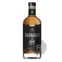 1731 Fine & Rare - Rhum hors d'âge - Barbados - 8 ans - 70cl - 46°