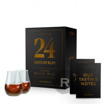 Calendrier de l'Avent - 24 days of rum - Edition 2020 - 24 x 2cl - 48cl - 41,7°