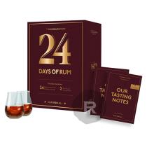 Calendrier de l'Avent - 24 days of Rum - Edition 2021 - 24 x 2cl - 48cl - 43,2°