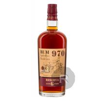 Rum 970 - Rhum très vieux - Reserva - 6 ans - 70cl - 40°