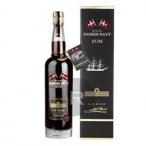 A.H. Riise - Rhum hors d'âge - Royal Danish Navy Strength - 70cl - 55°