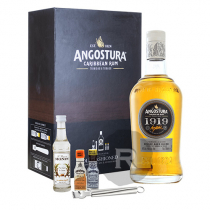 Angostura - Rhum hors d'âge - 1919 - Coffret Old fashioned - 70cl - 40°