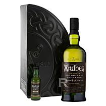 Ardbeg - Whisky - Single malt - Coffret Quadrant 10 ans et Mignonnette Uigeadail - 75cl - 46°