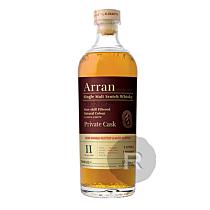 Arran - Whisky - Single Malt - Sherry Hogshead - Conquête - 11 ans - 2009 - 70cl - 56,3°