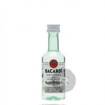 Bacardi - Rhum blanc - Carta Blanca - Mignonnette - 5cl - 40°