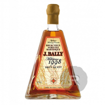 Bally - Rhum hors d'âge - Brut de fût - Millésime 1998 - 70cl - 59,1°