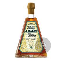 Bally - Rhum hors d'âge - Brut de fût - 17 ans - Millésime 2000 - LMDW - Pyramide - 70cl - 58,1°