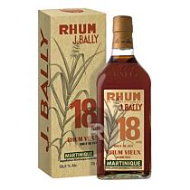 Bally - Rhum hors d'âge - 18 ans - Brut de fût - Corman Collins - 70cl - 56,8°