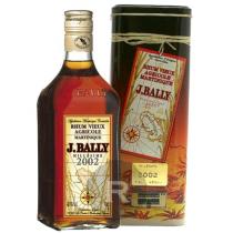 Bally - Rhum hors d'âge - Millésime 2002 - 70cl - 43°