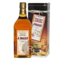 Bally - Rhum hors d'âge - Millésime 2005 - 70cl - 43°
