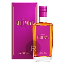 Bellevoye - Whisky - Prune - Triple Malt - Fûts de prune - 70cl - 43°