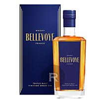 Bellevoye - Whisky - Bleu - Triple Malt - Grain fin - 70cl - 40°