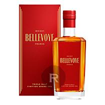 Bellevoye - Whisky - Rouge - Triple Malt - Grand Cru - 70cl - 43°