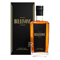 Bellevoye - Whisky - Noir - Triple Malt - Tourbé - 70cl - 43°