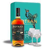 Botran - Rhum hors d'âge - 15 ans - Coffret 2 verres - 70cl - 40°