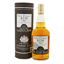Bristol - Rhum hors d'âge - Cuban Rum - Millésime 2003 - 70cl - 43°
