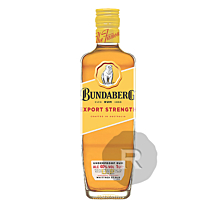 Bundaberg - Rhum ambré - Export Strength - Underproof - 1L - 40°