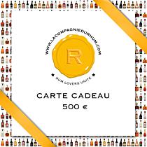 La Compagnie du Rhum - Carte Cadeau 500 €