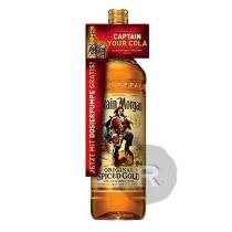 Captain Morgan - Rhum ambré - Spiced Gold - Jeroboam avec pompe - 3L - 35°