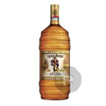 Captain Morgan - Rhum ambré - Spiced Gold - Bouteille fût - Edition limitée - 1,5L - 35°