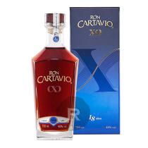 Cartavio - Rhum hors d'âge - 18 ans - Etui bleu - XO - 70cl - 40°