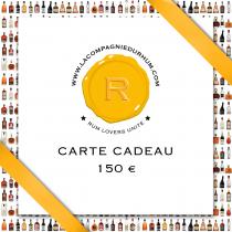 La Compagnie du Rhum - Carte Cadeau 150 €