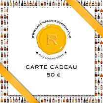 La Compagnie du Rhum - Carte Cadeau 50 €