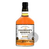 Chairman's Reserve - Rhum hors d'âge - Millésime 2009 - 70cl - 46°