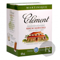 Clément - Rhum blanc - Cubi - 4,5L - 40°