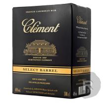 Clément - Rhum ambré - Select Barrel - Cubi - 3L - 40°