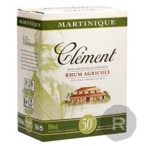 Clément - Rhum blanc - Cubi - 3L - 50°