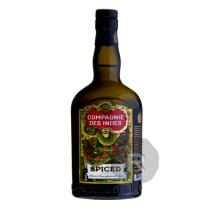 Compagnie des Indes - Rhum ambré  - Spiced - 70cl - 40°