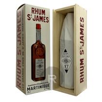 Saint James - Rhum hors d'âge - 17 ans - Corman Collins - 70cl - 52,4°