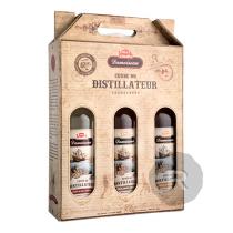 Damoiseau - Coffret 3 Rhums - Cuvée du distillateur - Blanc, Ambré, Vieux - 2,1L - 45,66°