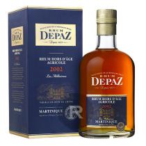 Depaz - Rhum hors d'âge - Millésime 2002 - 70cl - 45°
