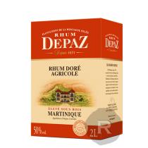 Depaz - Rhum ambré - Doré - Cubi - 2L - 50°