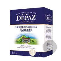 Depaz - Rhum blanc - Cubi - 3L - 50°