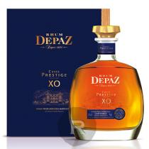 Depaz - Rhum hors d'âge - Cuvée Prestige - Carafe et coffret bois - 70cl - 45°