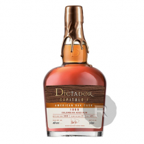 Dictador - Rhum hors d'âge - American Oak Cask - Millésime 1999 - 70cl - 42°