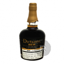 Dictador - Rhum hors d'âge - Best of 1980 - Extremo - 70cl - 44°