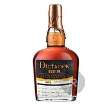 Dictador - Rhum hors d'âge - Best of 1979 - 70cl - 40,8°