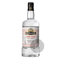 Dillon - Rhum blanc - Canne rouge - Récolte 2019 - 70cl - 50°