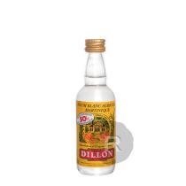 Dillon - Rhum blanc - Mignonnette - 5cl - 50°