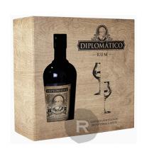 Diplomatico - Rhum hors d'âge - Seleccion de Familia - Coffret 2 verres - 70cl - 40°
