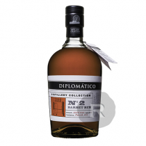 Diplomatico - Rhum hors d'âge - Distillery Collection - N°2 - Barbet Rum - 70cl - 47°