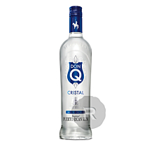 Don Q - Rhum blanc - Cristal - 70cl - 40°