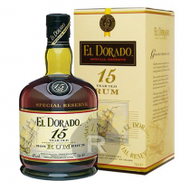 El Dorado - Rhum hors d'âge - Demerara Rum - 15 ans - 70cl - 43°